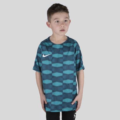 Nike Dry Squad Niños M/C Fútbol - Top de Entrenamiento