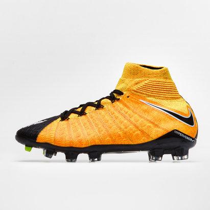 Nike Hypervenom Phantom III Dynamic Fit Niños FG - Botas de Fútbol