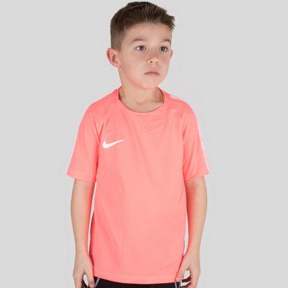 Nike Breathe Squad M/C Niños - Camiseta de Fútbol