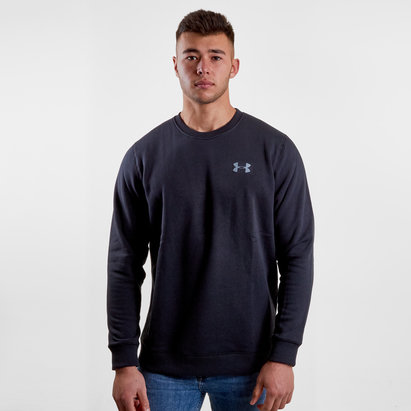 Under Armour Rival Polar Solid Fitted Crew - Sudadera