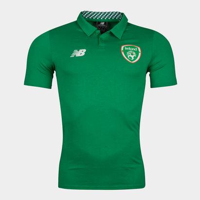 New Balance República de Irlanda 17/18 Players Fútbol - Polo