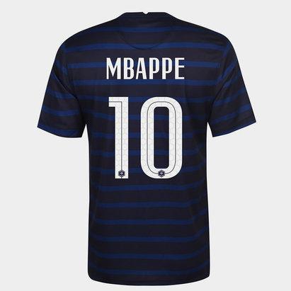 Nike France Kylian Mbappe Home Shirt 2020