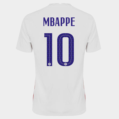 Nike Camiseta De Francia Kyllian Mbappe Visita 2020
