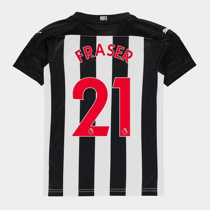 Puma Newcastle United Ryan Fraser Home Shirt 20/21 Kids