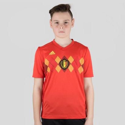adidas Bélgica 2018 Niños Home M/C Réplica - Camiseta de Fútbol