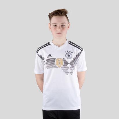 adidas Alemania 2018 Home Niños M/C Réplica - Camiseta de Fútbol