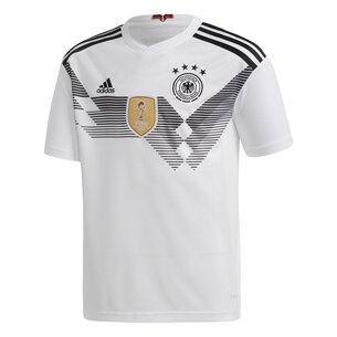 adidas Alemania 2018 Home Jóvenes M/C Réplica - Camiseta de Fútbol