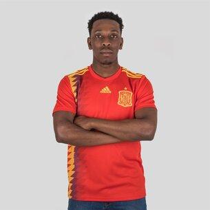 adidas España 2018 Home M/C Réplica - Camiseta de Fútbol