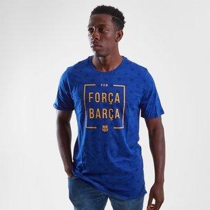 Nike FC Barcelona 2018 Squad - Camiseta de Fútbol