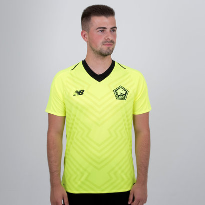New Balance Lille OSC 18/19 Away M/C Réplica - Camiseta de Fútbol