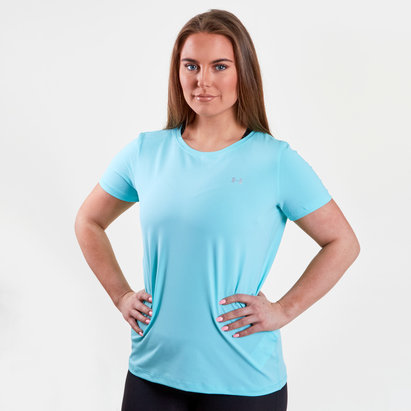 Under Armour HeatGear Mujer - Camiseta de Entrenamiento