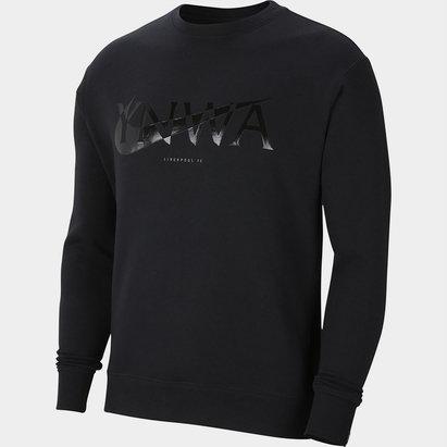 Nike Sportswear Liverpool Crew Neck Fleece Sweatshirt Mens