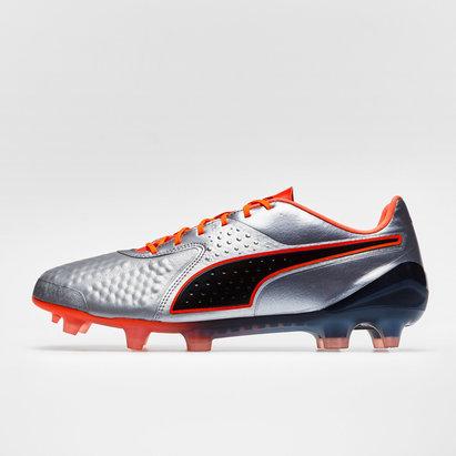 Puma One 1 Piel Low FG - Botas de Fútbol