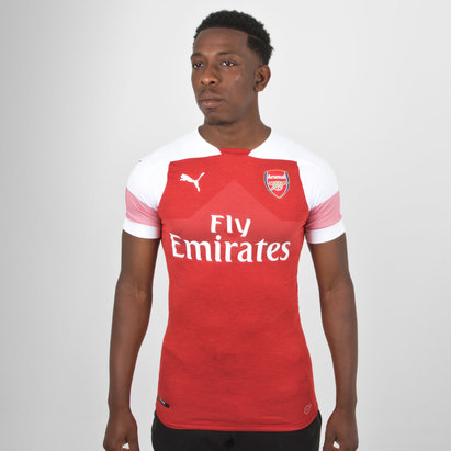 Puma Arsenal 18/19 Home M/C Auténtica Players - Camiseta de Fútbol