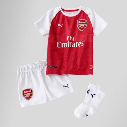 Puma Arsenal 18/19 Home Bebés - Equipación de Fútbol
