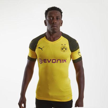 Puma Borussia Dortmund 18/19 Home Players Auténtica - Camiseta de Fútbol