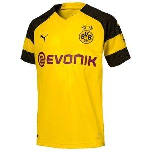 Puma Borussia Dortmund 18/19 Home Réplica - Camiseta de Fútbol