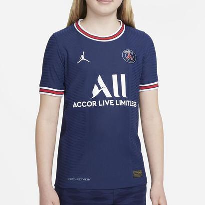 Nike Paris Saint Germain x Jordan Match Home Shirt 2021 2022 Junior