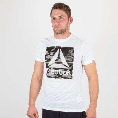 Reebok Camo Delta Speedwick Gráfica - Camiseta