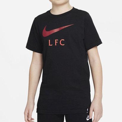 Nike Liverpool T Shirt 2021 2022 Junior
