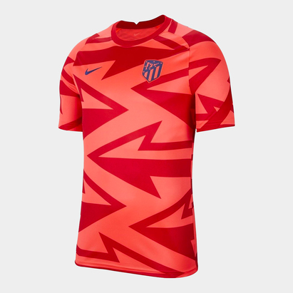 Nike Atletico Madrid Pre Match Shirt 2021 2022 Mens
