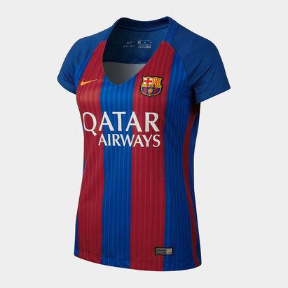Nike Barcelona Short Sleeve Home Shirt Womens
