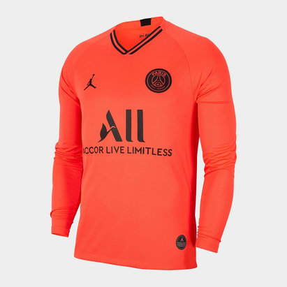 Nike Paris Saint Germain Away L/S Shirt 19/20 Mens