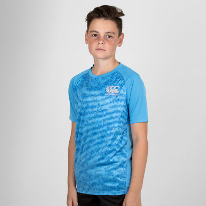 Canterbury Vapodri Superlight Jóvenes Gráfica - Camiseta