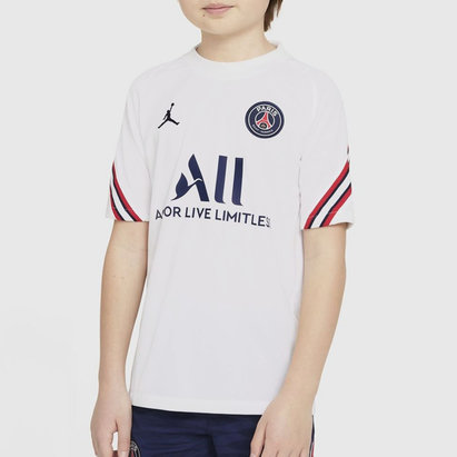 Nike Paris Saint Germain x Jordan Strike Training Top 2021 2022 Junior