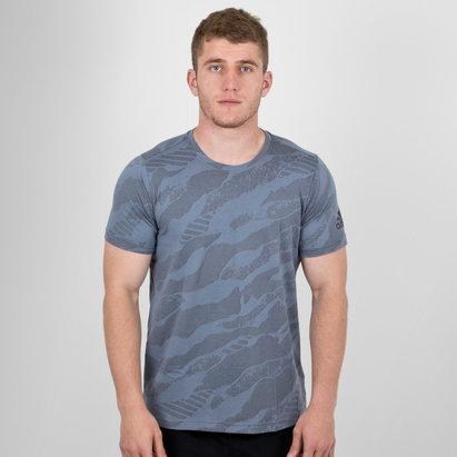 adidas FreeLift Jacquard Climalite M/C - Camiseta de Entrenamiento