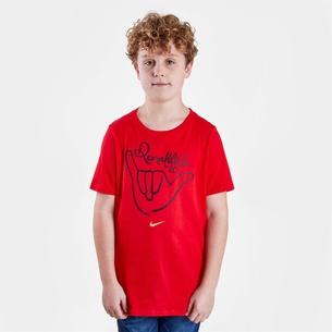 Nike Logo R10 M/C Camiseta de Futbol
