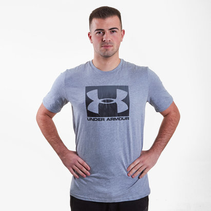 Under Armour Ua Boxed T-Shirt de Entrenamiento Deportiva
