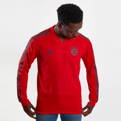 adidas Bayern Munich 18/19 M/L Camiseta de Jugador de Entrenamiento