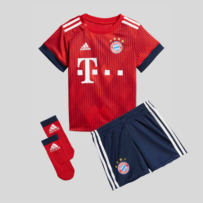 adidas Bayern Munich 18/19 Home Bebés Réplica - Equipación de Fútbol