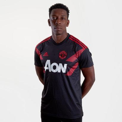 adidas Manchester United 18/19 Pre-Match Camiseta de Futbol de Entrenamiento