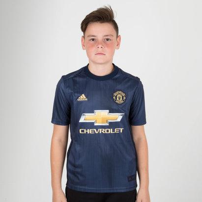 adidas Manchester United 18/19 3ra - Replica, Camiseta de Fútbol Para Niños