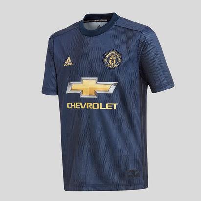 adidas Manchester United 18/19 3ra M/C Replica Camiseta de Futbol para Joven