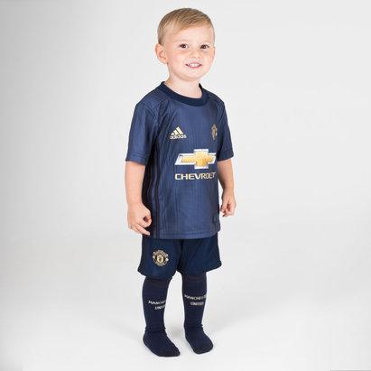 adidas Manchester United 18-19 3ra Mini Replica Kit de Futbol para Niños