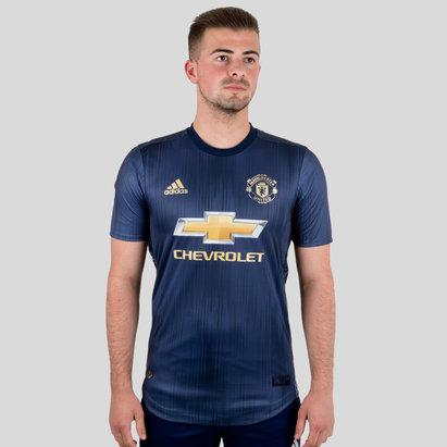 adidas Manchester United 18/19 3ra Camiseta de Futbol Autentica