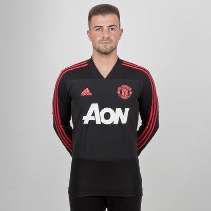 adidas Manchester United 18/19 S/S Replica Top de entrenar