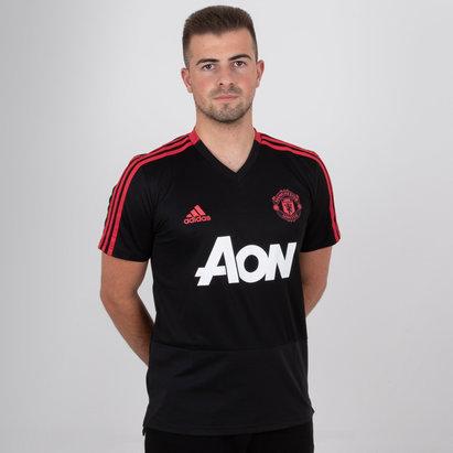 adidas Manchester United 18/19 S/S Camiseta ded Futbol para entrenamiento