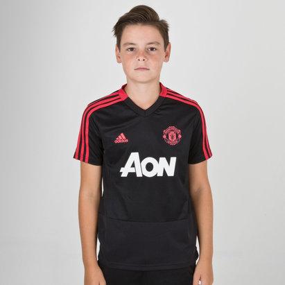 adidas Manchester United 18 19 Camiseta de Entrenamiento de Futbol para  Niños 556247be40b67