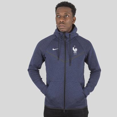 Nike Francia 2018 Tech Windrunner Chaqueta de Algodon