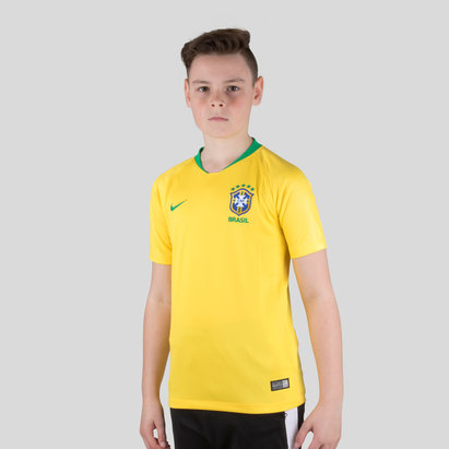 Nike Brasil 2018 Stadium Replica Camiseta de futbol de Niños