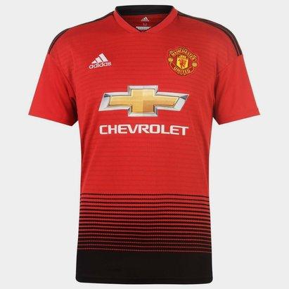 adidas Manchester United 18/19 Home M/C Réplica - Camiseta de Fútbol