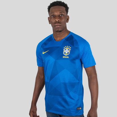 Nike Brasil 2018 Stadium Camiseta de Futbol visitante