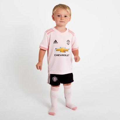 adidas Manchester United 18/19 Away Replica Mini kit de Futbol