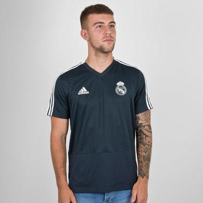 adidas Real Madrid FC 18/19 M/C Fútbol - Camiseta de Entrenamiento