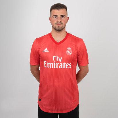 adidas Real Madrid FC 18/19 3a Auténtica M/C - Camiseta de Fútbol