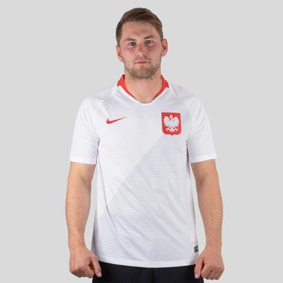 Nike Polonia 2018 Home M/C Stadium Camiseta de Futbol